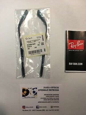 Ray Ban Aste Ricambio Rx 7017 Col. 5574 Replacement Arms New Original