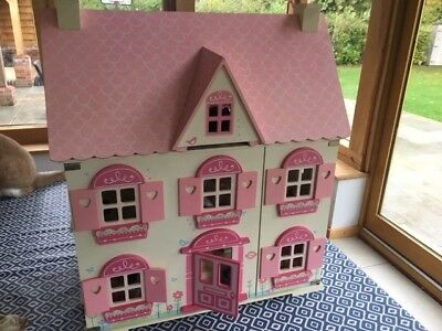 Wooden Dolls House - Early Learning Centre - Rosebuds Family Deluxe House