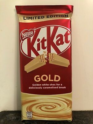 LIMITED EDITION Nestle KIT KAT GOLD 170g Block