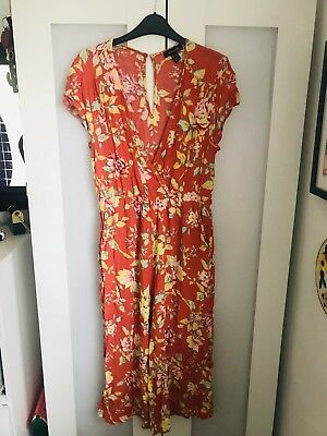 Ladies Foral Jumpsuit. Summer. New Look. Size 12
