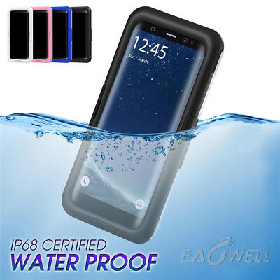 AU For Samsung Galaxy S7 S8 S9 / Plus Diving Waterproof Shockproof Cover Case ER