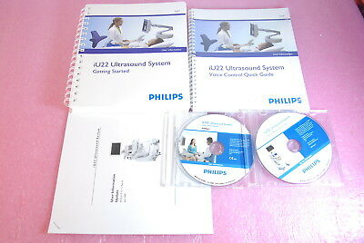 Philips iU22 Ultrasound System User Manual & User inforamtion CD & Books Unused