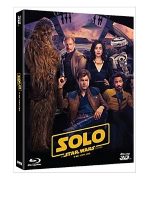 """  SOLO : STAR WARS STORY  ""  Blu-ray  (2D+3D+BONUS DISC)"