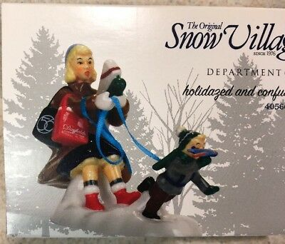 Dept 56 Snow Village Holidazed and Confused #4056697 BRAND NEW