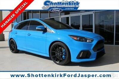2017 Ford Focus RS 350HP 2017 LEATHER  New Turbo 2.3L I4 16V Manual AWD Hatchback Moonroof Premium