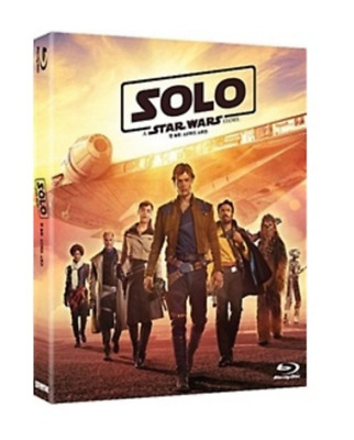 """  SOLO : STAR WARS STORY  ""  Blu-ray (2D+BONUS DISC)"