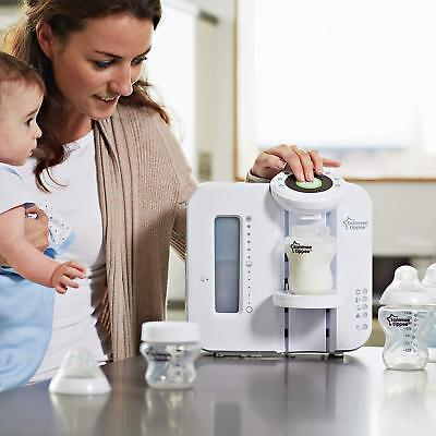 White Tommee Tippee Perfect Prep Machine Born Baby Milk Set Bottle Filter Maker