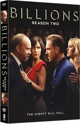 Billions Season 2 Two DVD Box Set Complete Collection Second TV Series New