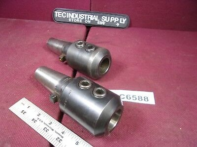 "Kwik-Switch 300 Universal Eng. 80851 Lot Of 2   1-1/4"" Tool Holders Loc6588"