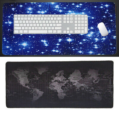 5290 Large Gaming Mouse Pad Extended Big L/M/S Size Desk Computer Mat Mousepad