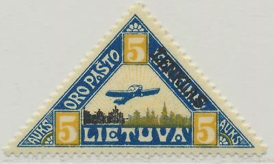 Lithuania Sc. C17 Plane over Kaunas 1922 MNH