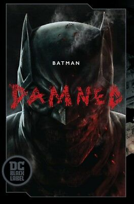 BATMAN DAMNED #1  1ST PRINT uncensored version
