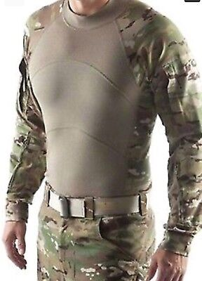 Massif Multicam US Army Combat Shirt ACS Large Flame Resistant NWOT OCP Scorpion
