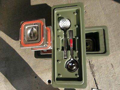 Bundeswehr Thermo Speisebehälter Rieber GN Thermoport Thermobehälter Fehlteile