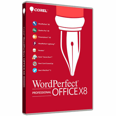 Corel WordPerfect Office X8 Professional ⚡ [Lifetime Serial KEY] [FAST Delivery]