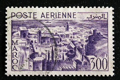 Stamp MOROCCO/ Stamp MOROCCO - Yvert and Tellier Aerial n°82 (A) obl (Cyn18)