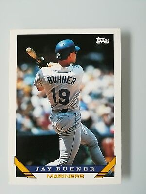 Topps Baseball Card 1993 - Jay Buhner - n.718 - Seattle Mariners - OF