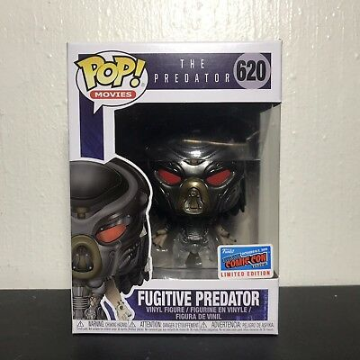 Funko POP Movies The Predator 620 Fugitive NYCC 2018 Official Limited Edition
