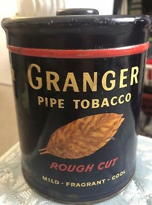 Granger Rough Cut Pipe Tobacco A Pointer on Tobacco Round Tin