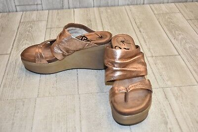fd05ca511dd5 OTBT TAILGATE WEDGE Sandal - Women s Size 9M Rose Gold -  61.50 ...