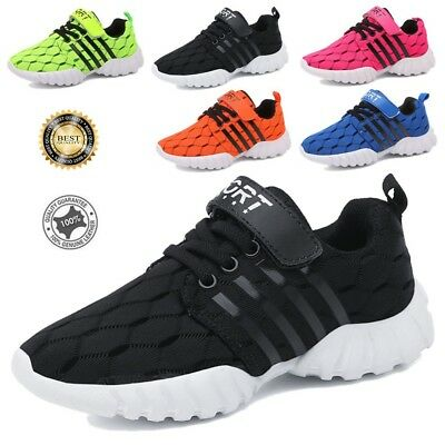 Boys Girls Sweet Sports Running Shoe Casual Big Kids Shoes Breathable Sneaker US