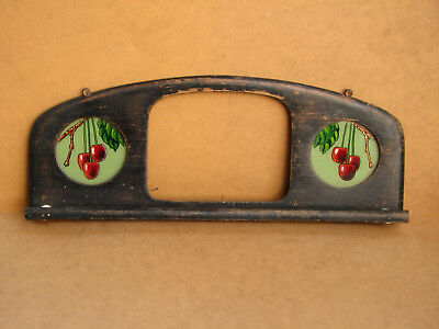 Old Antique Primitive Wooden Wood Wall Hanger Door Rack Shelf Towel Holder 30s