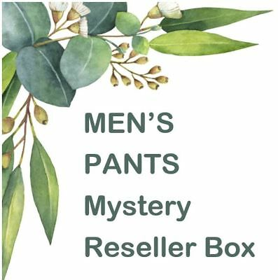 Mysteries Box YouTub Open Box Reseller Mysteries Box MEN'S CLOTHING PANTS