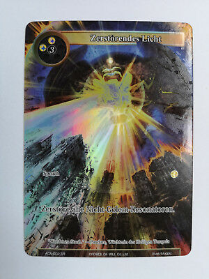 Force of Will Karte Zerstörendes Licht ACN-022 SR Full Art deutsch
