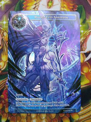 Force of Will Karte Raum-Zeit-Anomalie RL1705-2 Full Art Promo deutsch