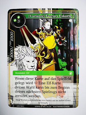 Force of Will [Variante] Faerurs Eskorte ACN-154 deutsch