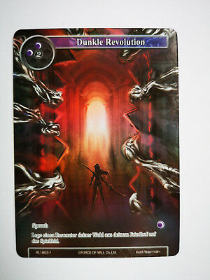 Force of Will Karte Dunkle Revolution RL1803-1 deutsch Full Art