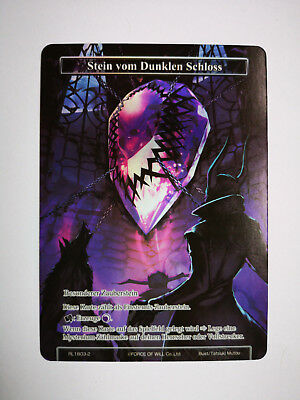 Force of Will Karte Stein vom dunklen Schloss RL1803-2 deutsch Full Art