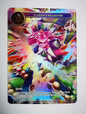 Force of Will Karte Gedankenkontrolle RL1808-1 deutsch Full Art
