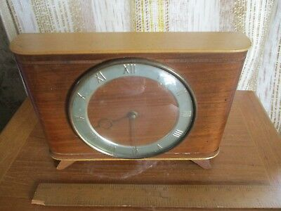 vintage smiths enfield  england 20 hour mantle clock
