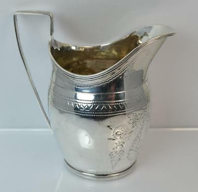 1798 Georgian Solid Silver Cream or Milk Jug