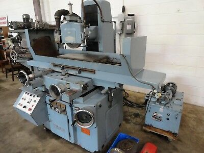"""Nicco NSG-6H 12"""" x 24"""" Automatic Surface Grinder with Incremental Downfeed"""