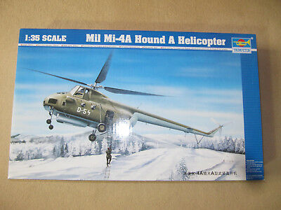 Mil Mi - 4A  Hound A Helicopter, 1:35, trumpeter, Nr. 05101