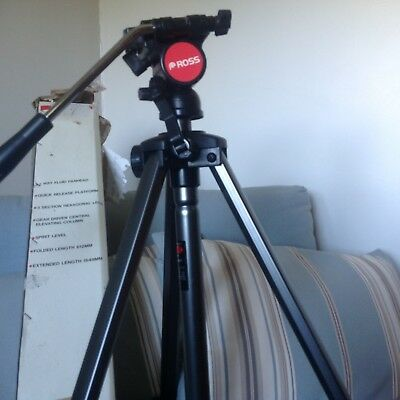 Ross camera tripod, boxed excellent condition