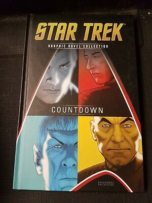 Star Trek Graphic Novel Collection Volume 1 Countdown  Eaglemoss NEW