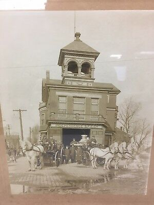 Rare Antique Photo Independence SFE CO Fire Company Wilmington Delaware