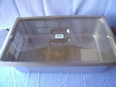 Vollrath 90063 Super Pan 3  Anti-Jam Stainless Steel Perforated Steam! O1