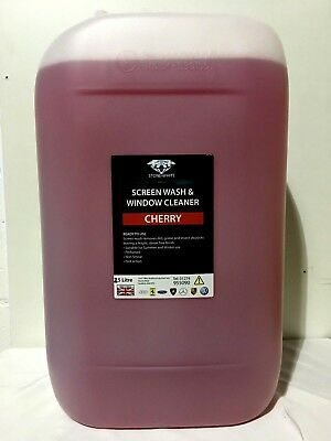Cherry Fragrance Concentrated Screen Wash for Winter Arctic 25 Litres 25LTR