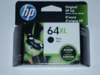 HP 64XL black ink cartridge expires Sept 2019
