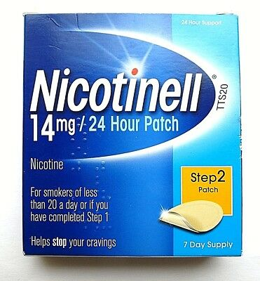 Nicotinell 14 mg patches 7 day step 2 patches