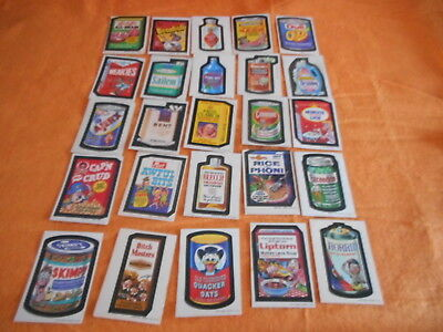 25 1970s wacky packages stickers