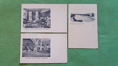 3 Early Inverness Postcards