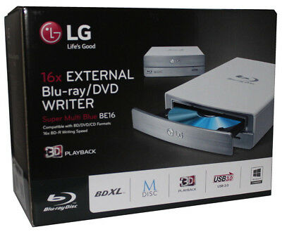 Blu-ray Brenner LG BE16NU50 mit ASUS BW-16D1HT Firmware 3.02 retail UHD friendly