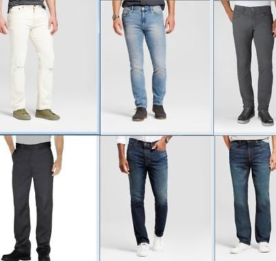 Wholesale Lot of Mens Jeans Pants Bottoms Wrangler Levi Dickies More Brand New