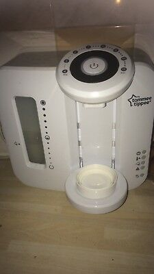 tommee tippee closer to nature prep machine and electric steriliser