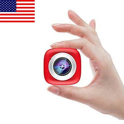 Selfie HD WiFi Action Camera, Multi-Functional APP Remote Control Mini Camera US